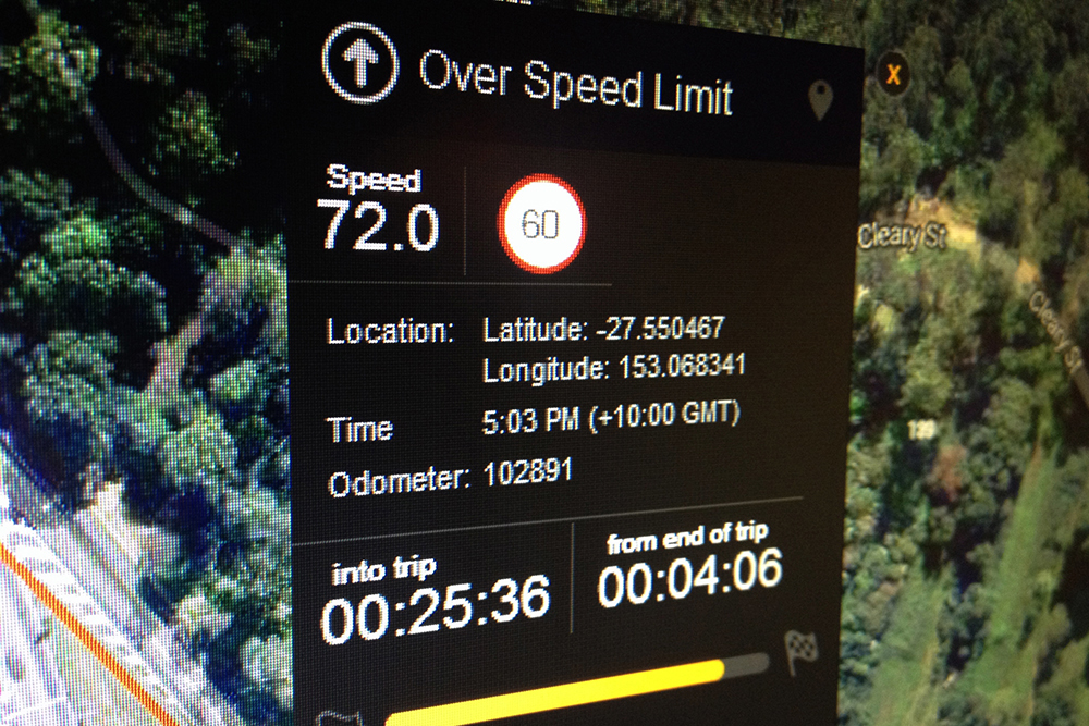 Sensis speed limit database