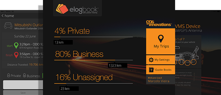 eLogBook ipad Logbook for Drivers